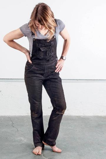 WOMEN'S STRETCH CANVAS CASUAL WORKING OVERALLS PANTS