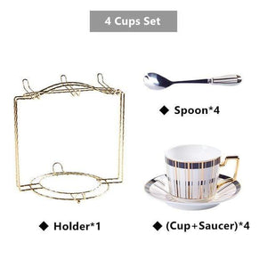 Rippington Teacup Collection Set
