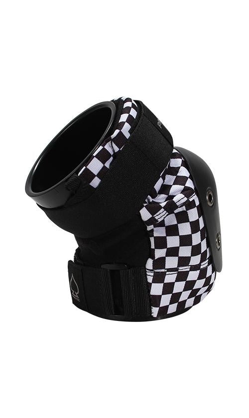 PROTEC BLACK CHECKER KNEE PADS - SMALL
