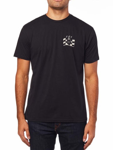 FOX TEE PODIUM BLACK MEDIUM