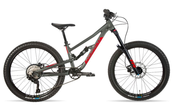 NORCO FLUID 4.2 FS CHARCOAL GREY/CANDY APPLE RED 2021