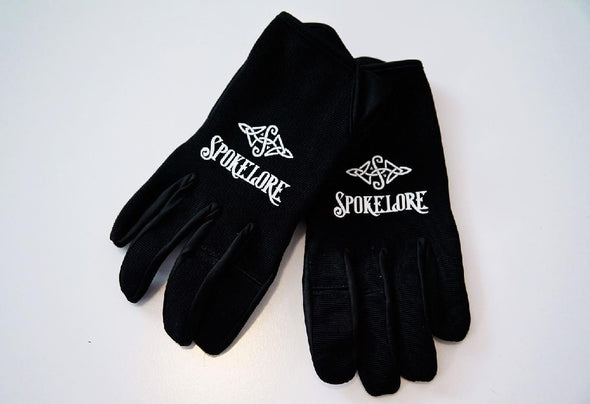 SPOKELORE FULL FINGER GLOVE BLACK LARGE