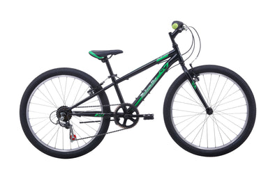 MALVERN STAR MUSTANG 24 BLACK/GREEN 2021