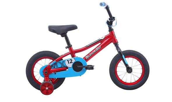 MALVERN STAR MX12 RED/BLUE 2021