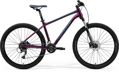 MERIDA BIG SEVEN 60 PURPLE/TEAL/BLUE 2021