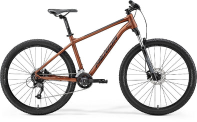 MERIDA BIG SEVEN 60 MATT BRONZE/BLACK 2021