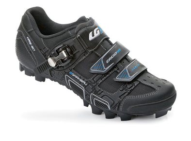 LG WOMENS MONTE MTB SHOES BLACK 38 3 STRAP WITH RATCHET