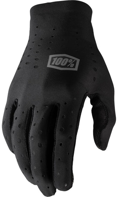 100% SLING GLOVES - LARGE - BLACK