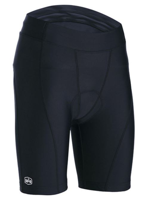 SOLO SPORT SHORT WOMENS BLACK