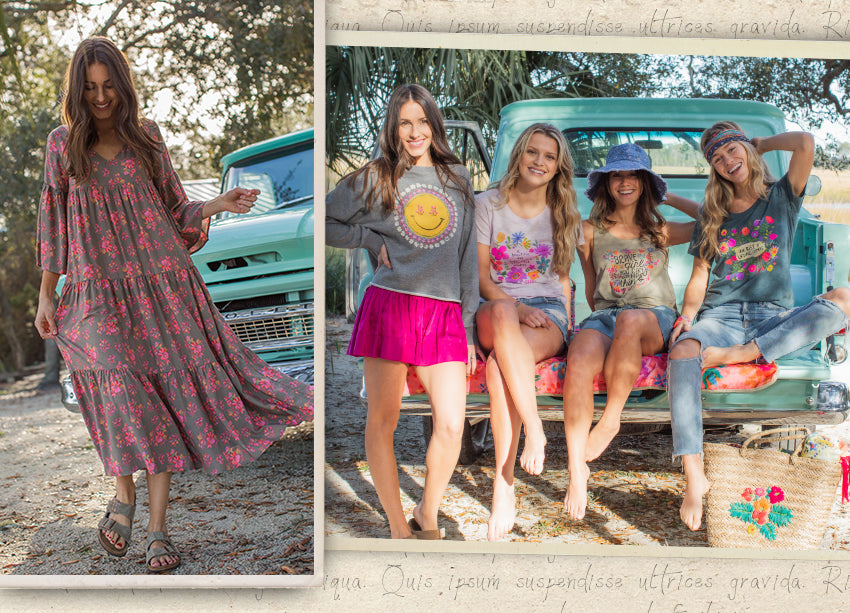 The truck was used for a Natural Life photo shoot!