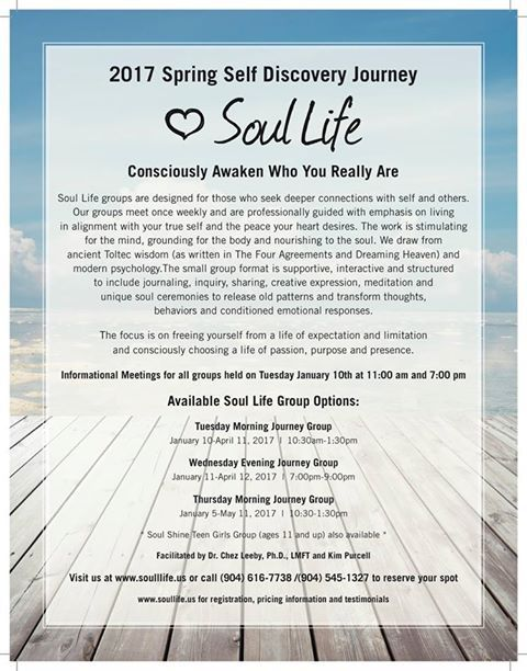 2017 Spring Self Discovery Journey Soul Life