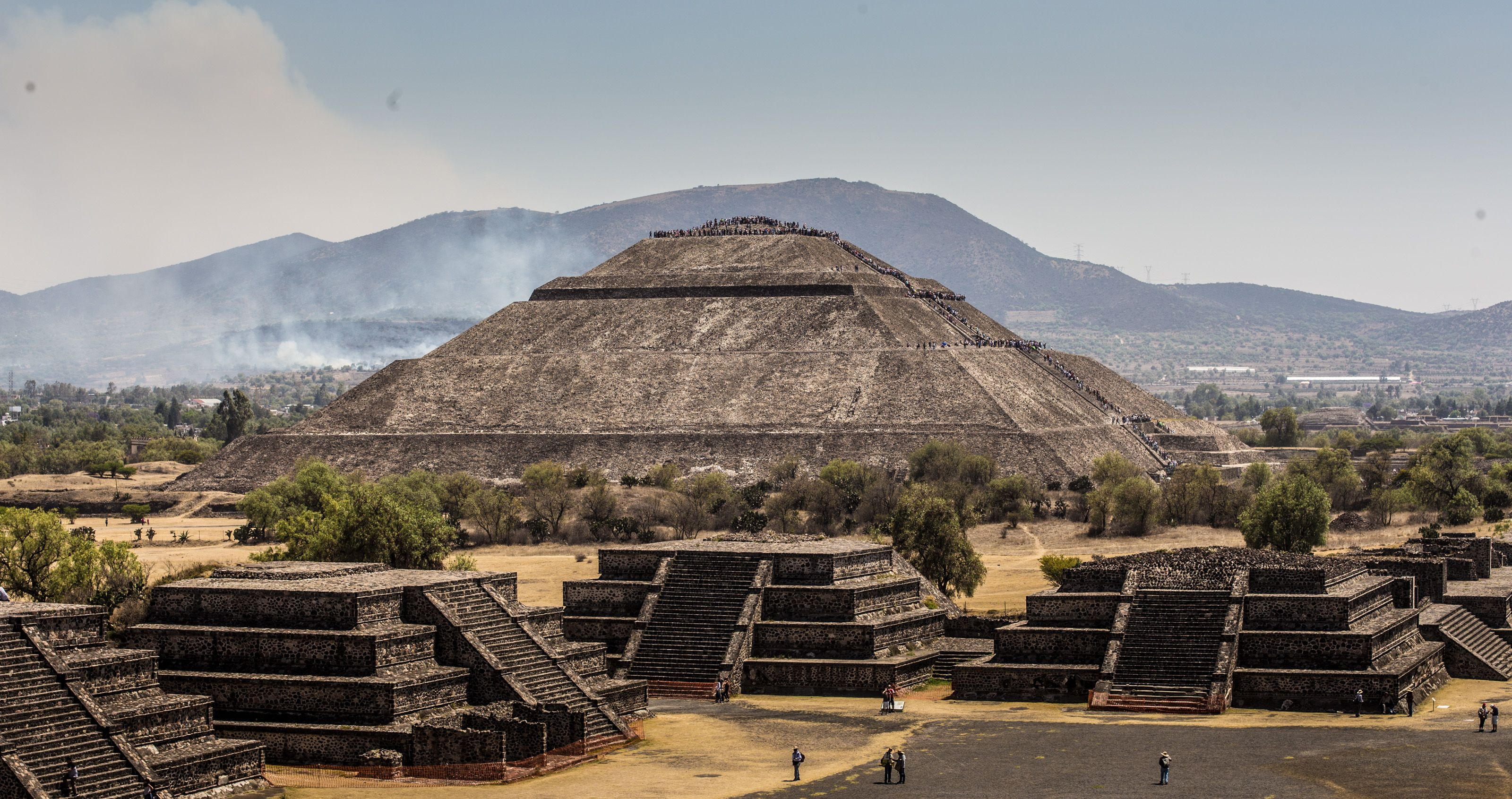 Pyramid of the Sun and Moon