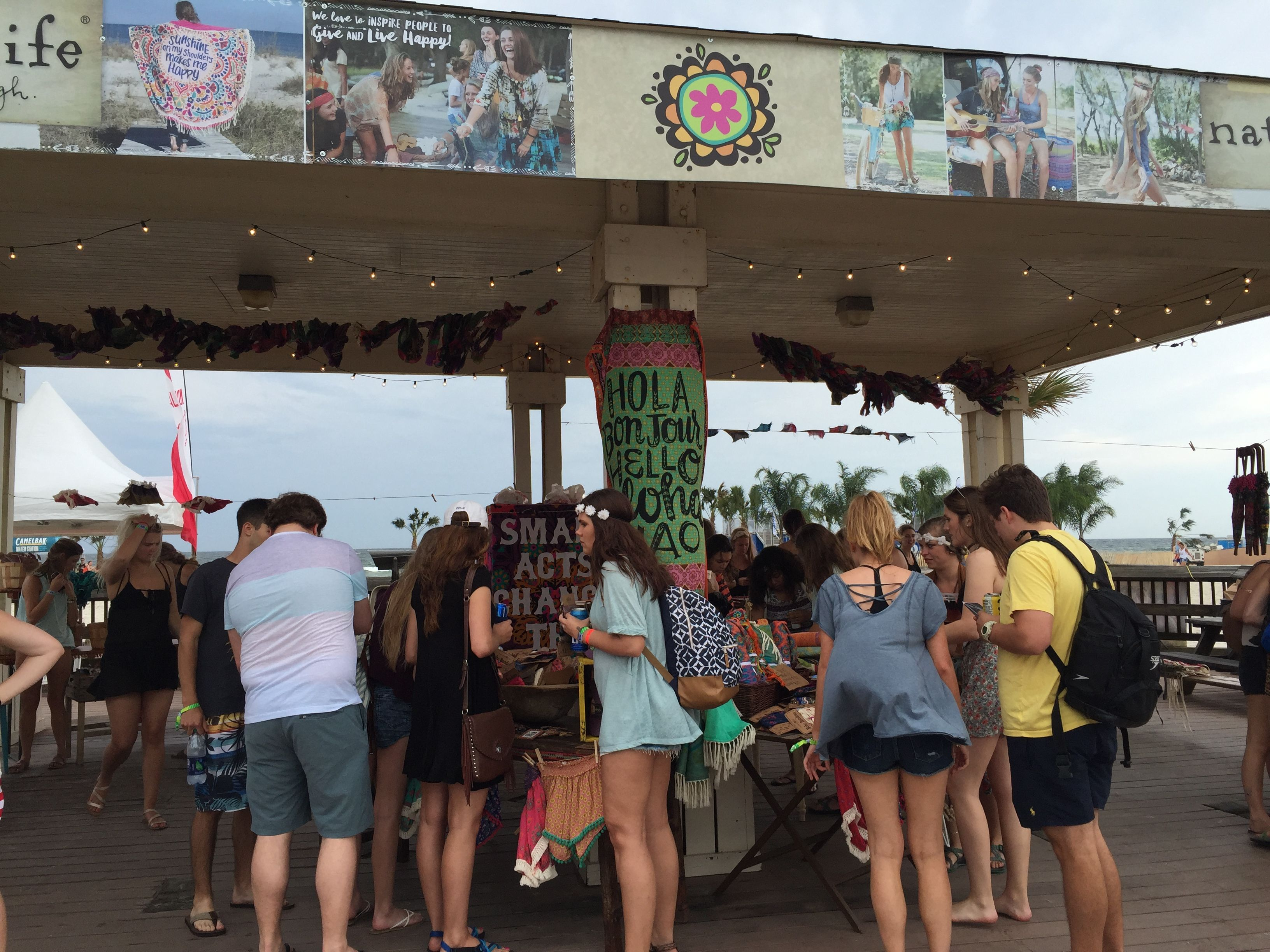 Natural Life products at Hangout Music Festival
