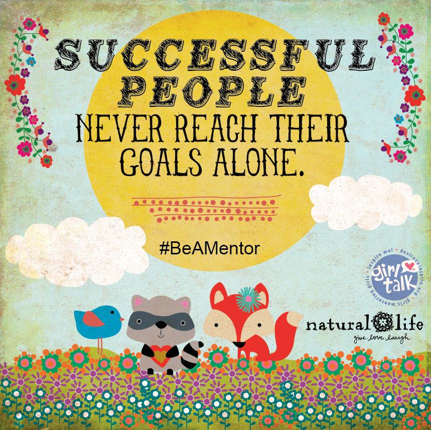 Successful people never reach their goals alone.