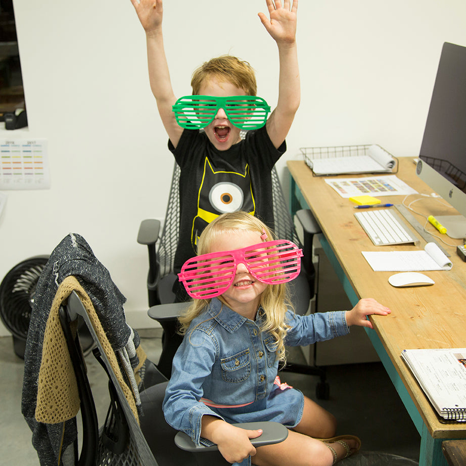 Kids at Office Warming Party
