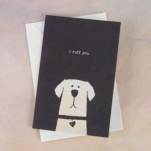Cute Pup Card