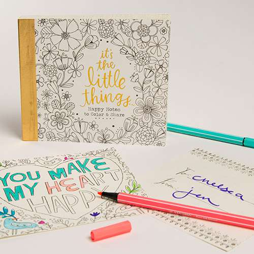 Happy Notes Coloring Book