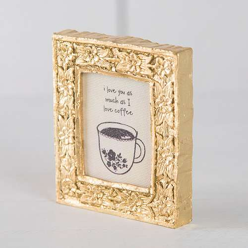 Coffee Daisy Keepsake