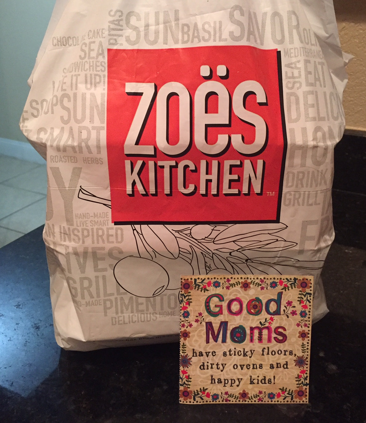 Food from Zoe's Kitchen