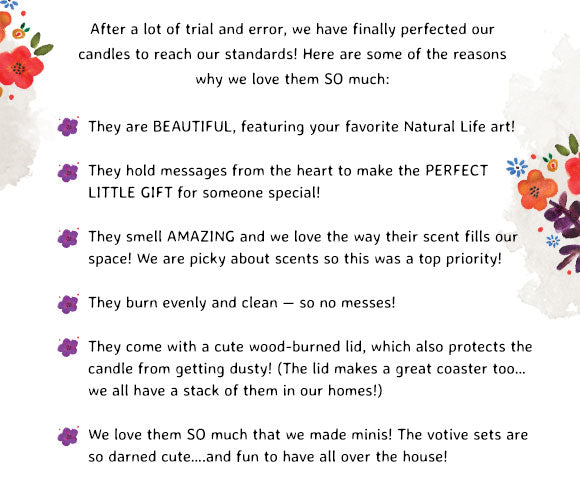 Reasons why we love our candles