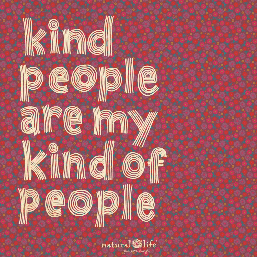 kind people are my kind of people graphic