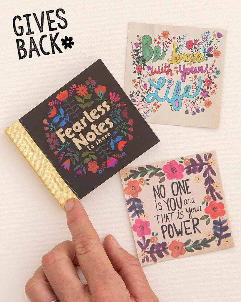inspirational giveback collection book of notes
