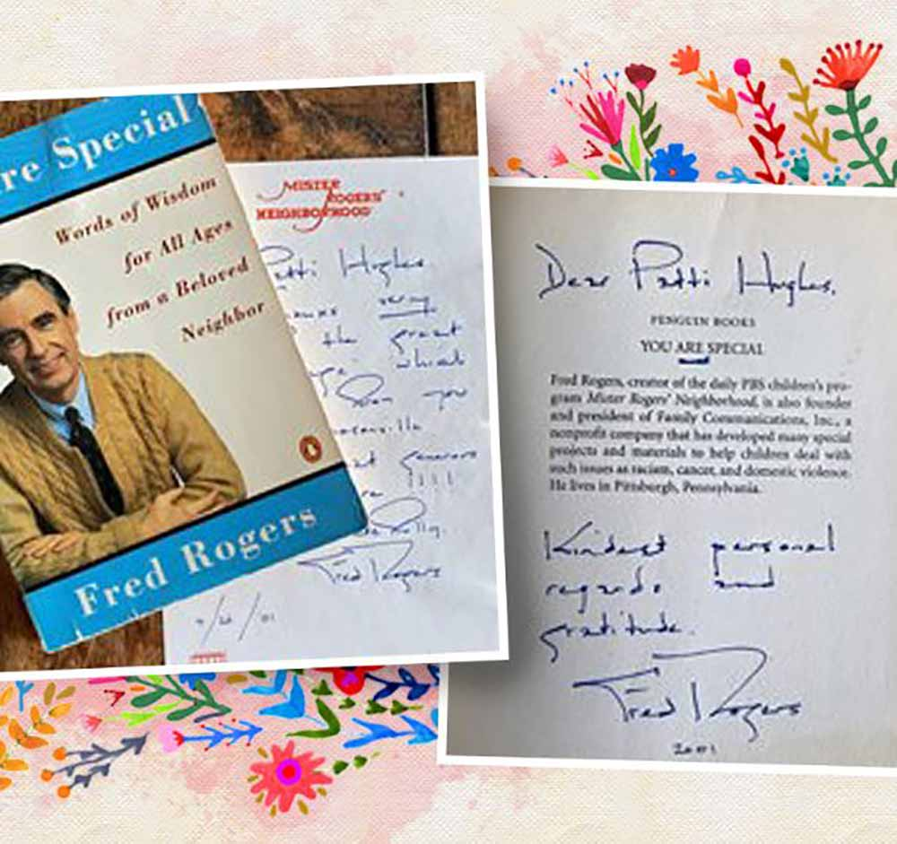 Fred Rogers loved Natural Life Treasures! Letter that he wrote to our CEO!