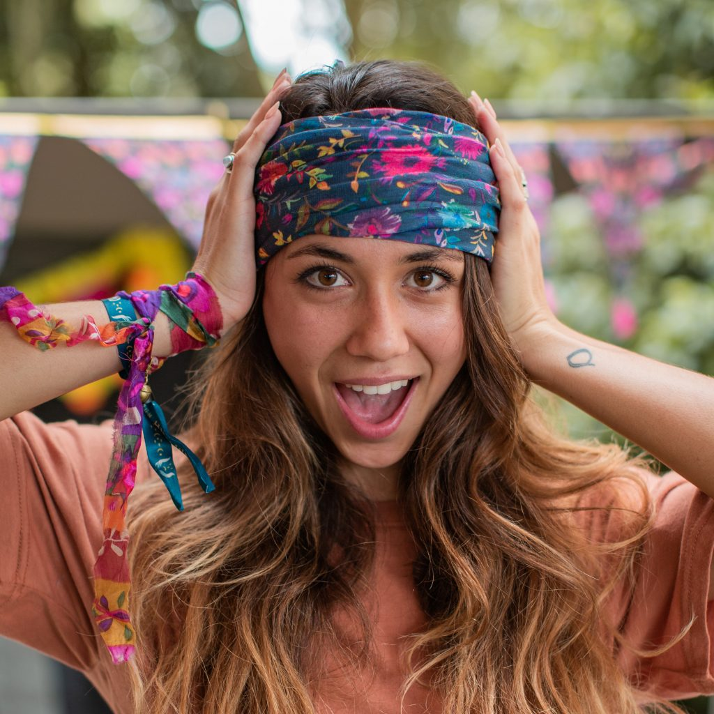 Boho bandeau makes comfortable and stylish cancer hair accessory