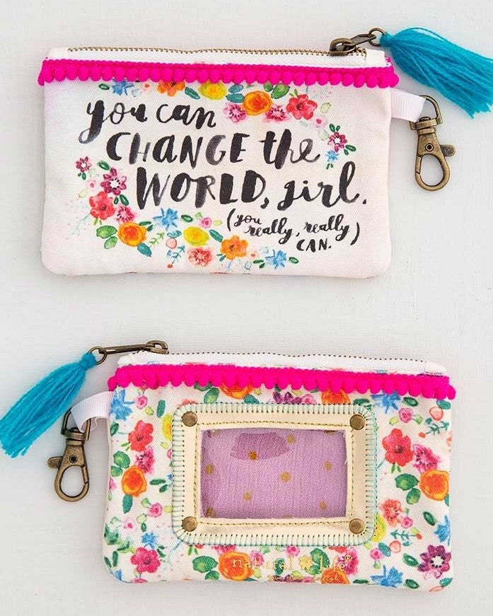 You can change the world girl ID Pouch
