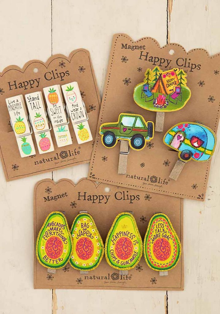 Cute and colorful happy clips