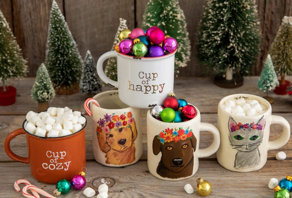 Coffee mugs make perfect little gifts