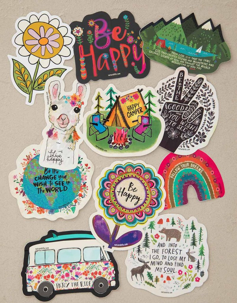 Natural Life Chirp Stickers
