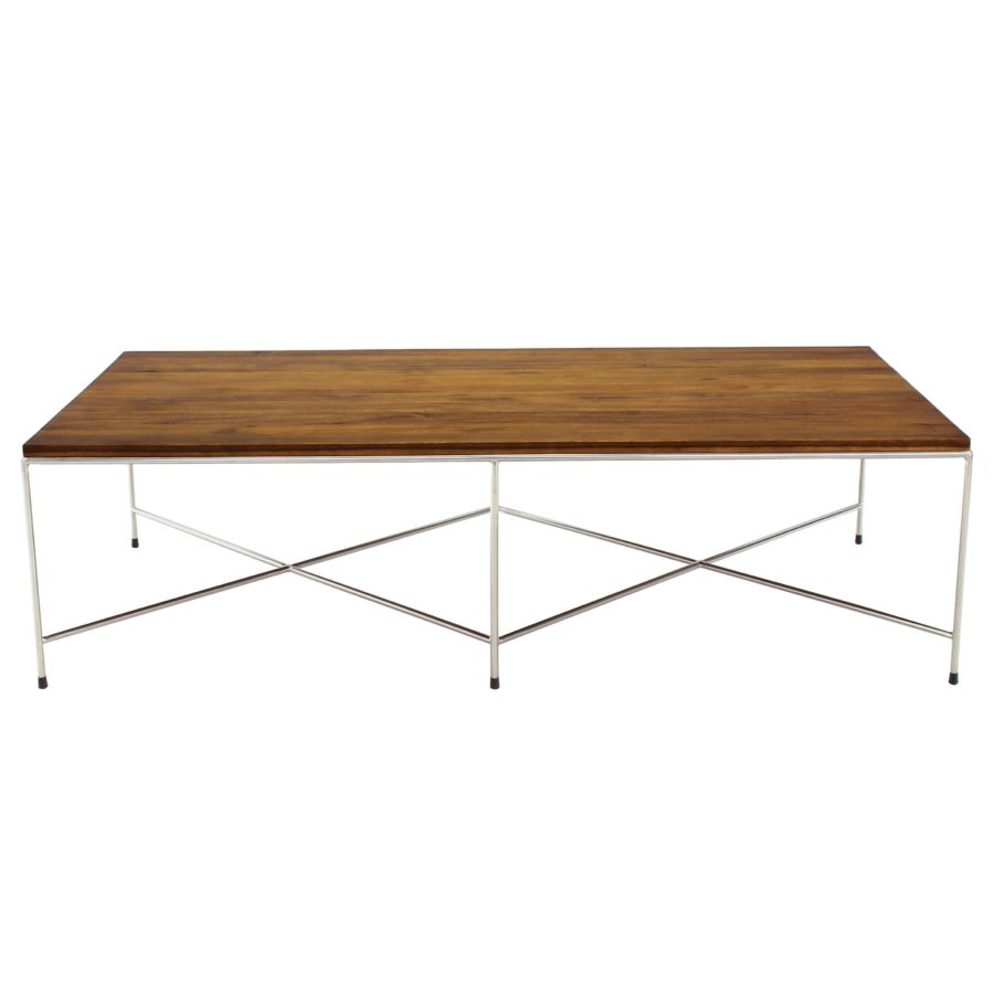 Double X-Base Coffee Table