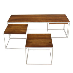 Nesting Box Coffee Table Set