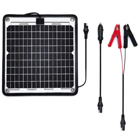 Image of ACOPOWER 24V 10 W Trickle Solar Charger 0.28Amp, Trolling Motor Battery Charger