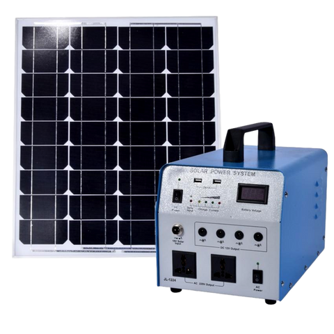 350W Solar Power Lighting System Generation