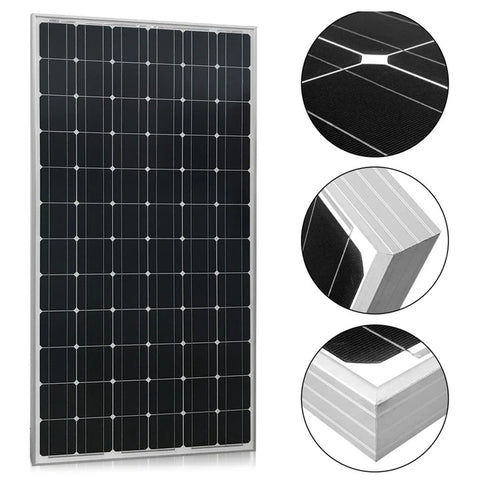 ACOPOWER 200 Watt 24 Volts Monocrystalline for Water Pumps, Residential Power Supply