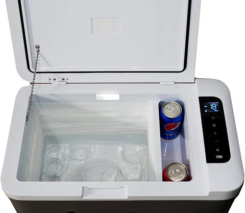 Image of ACOPOWER P25A Portable Compressor Fridge Freezer for car and Home, -4°F True Freezing