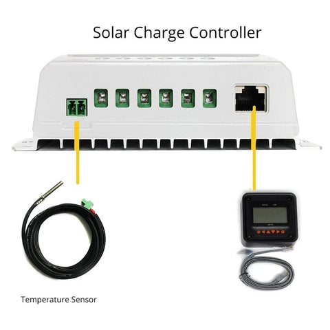 ACOPOWER Battery Temperature Sensor For MPPT Charge Controller