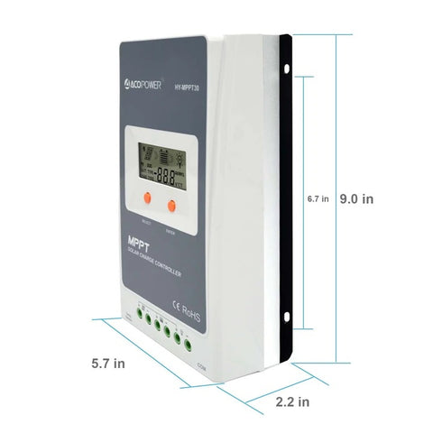 Image of ACOPOWER 30A MPPT Solar Charge Controller