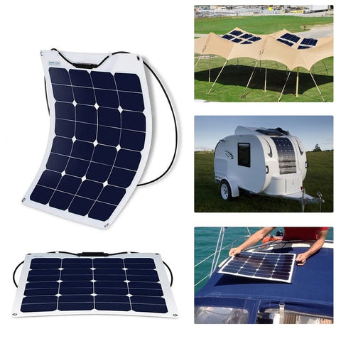 Image of ACOPOWER 55W Flexible Solar Panel,12V
