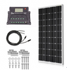 ACOPOWER 100W 12V Off-grid Monocrystalline Solar Kit with 20A PWM Charge Controller