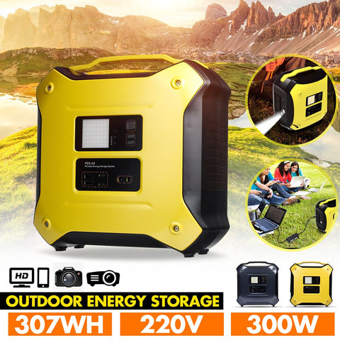 Image of 300W-220V-Portable-Energy-Solar-Inverter-Generator.jpg