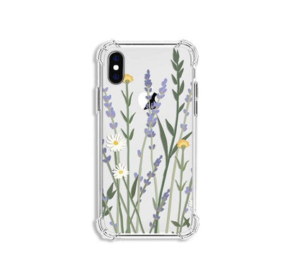 Shockproof Airbags Floral Case | All iPhone Models
