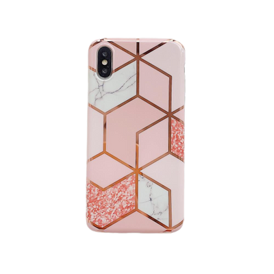 Marble Geometric Phone Case - iPhone 12 | All iPhone Models