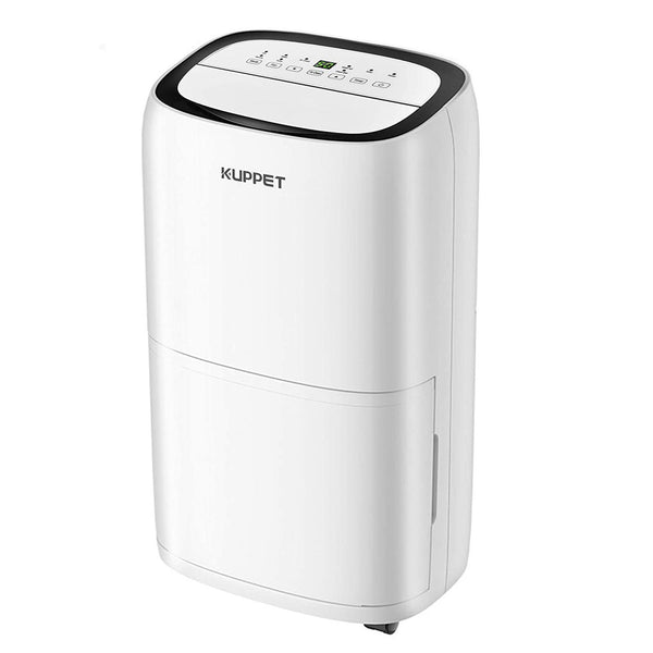 KUPPET Dehumidifier 45 Pints for up to 3000 Sq. Ft with Dry Clothes Function for Home with Big Water Tank