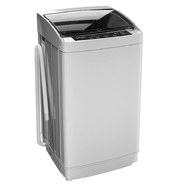 KUPPET Full-Automatic Portable Compact Washing Macine, 1.01 Cu. ft Laundry Washer Spin with Drain Pump,LED IndicatorLight