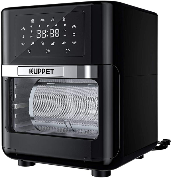 KUPPET Air Fryer Oven, 13 Quarts Air Fryer, Rotisserie Oven, 8-in-1 Countertop Oven with Dehydrator & Rotisserie