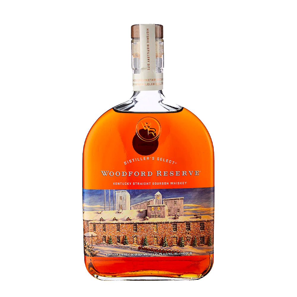 WOODFORD RESERVE DILSTILLERS SELECT HOLIDAY EDITION KENTUCKY STRAIGHT BOURBON 1LI (5404939157658)