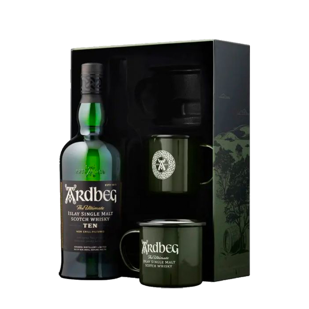 ARDBEG THE ULTIMATE ISLAY 10 YEAR OLD GIFT PACK